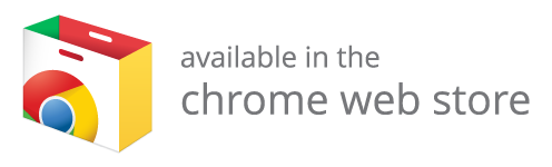 available in the chrome webstore